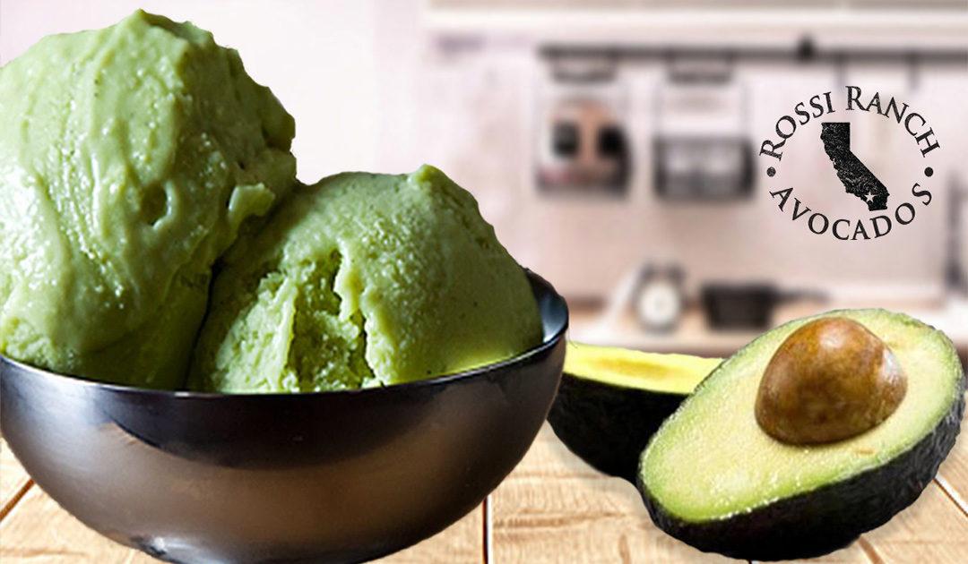 Sorvete de Abacate (Avocado Ice Cream)
