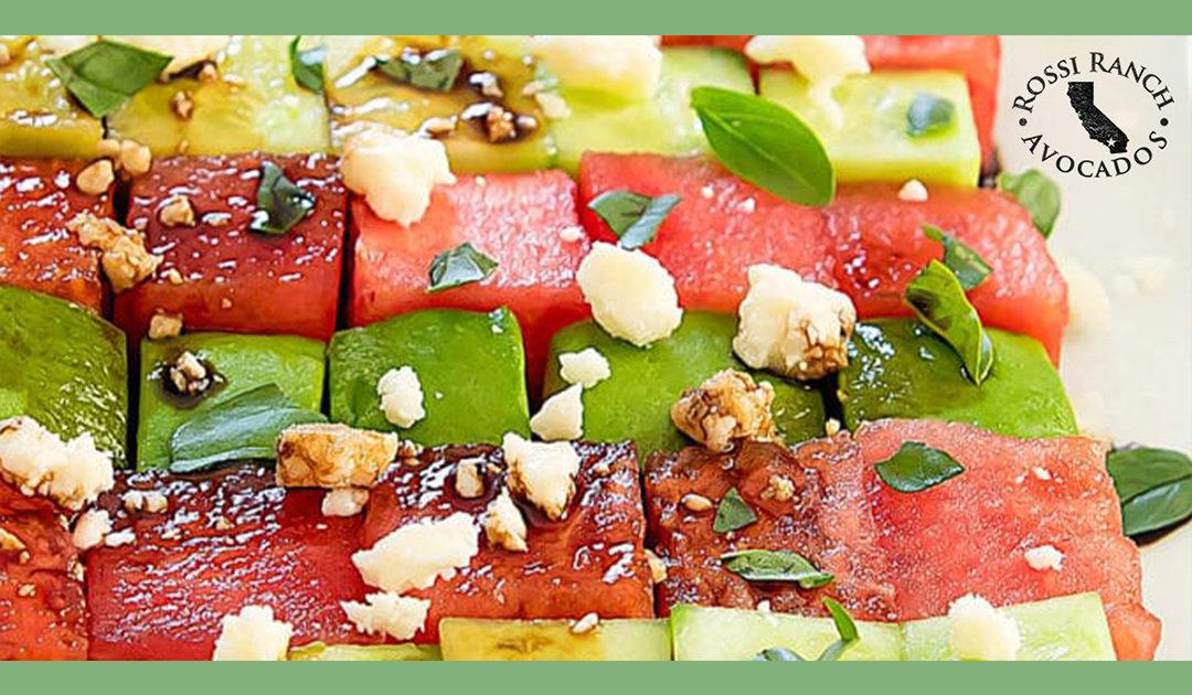 Avocado-Watermelon-Salad