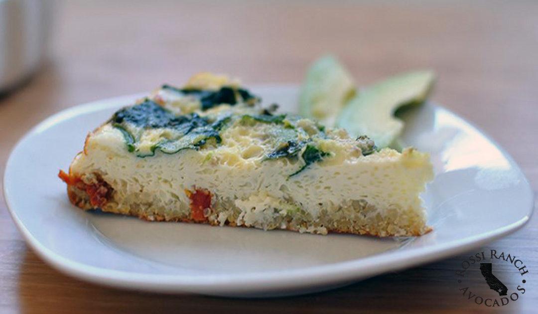 Avocado Quinoa Breakfast Bake Rossi Ranch Avocados Recipe